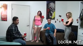 Wild dildo playing with hot lesbian babes