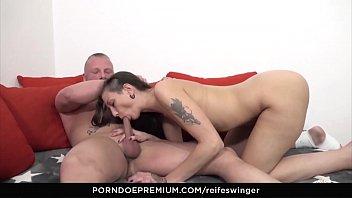 REIFE SWINGER - Alternative German newbie Svenja enjoys deep anal exploration