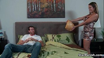 Dude fucks his sexy babe&#039_s ass on the sofa-part-01