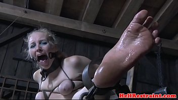 feet penalized slave jug bonded and.