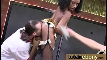 supah-hot dark-hued gang-drill joy interracial 20