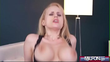 Hot load on blonde Milf&#039_s big tits(Angel Wicky) 04 mov-16