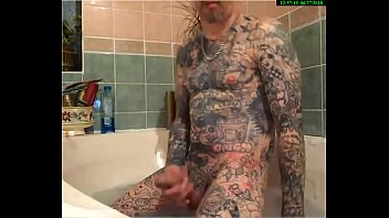 english tatted beautiful man frolicking with his ample.