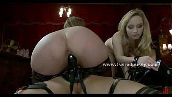 blond awesome supah-hot all girl domme