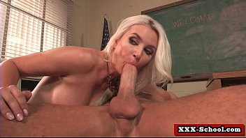 nasty student gets disciplined by her.