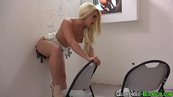 blondie gets ebony lollipop