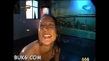 splendid darling gives sopping oral with astonishing dutch penetrate