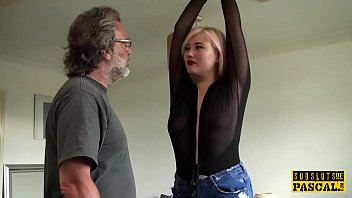 sadism & s/m euro spanked and smacked during roughsex