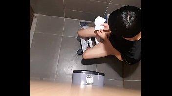 korean teenboy hiden wc four
