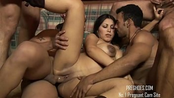 prego dark-hued gang-boink assfuck double intrusion - more.