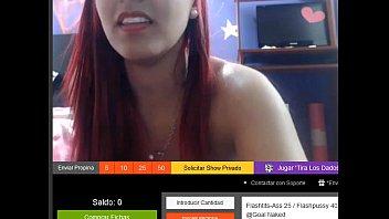 colombiana masturbandose por webcam