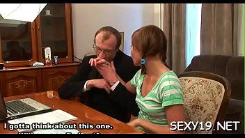 stunner is letting her mature tutor taste her.