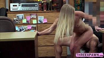 smallish blondie perform impressive fellatio during her van.