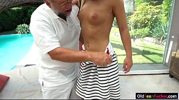 angelina julie frigged by aged perv before deepthroating.