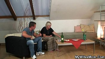 naughty grannie lures her sonnie-in-law