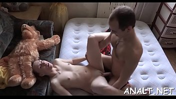 Nibbling hotties luscious butt hole