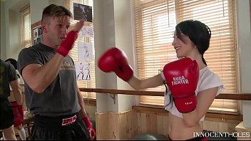 teenager boxer stunner sandra luberc is an assfuck.
