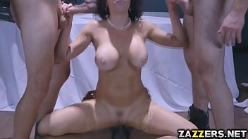 trio insatiable boys plowed veronica039_s cootchie and butt gonzo