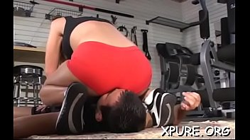 thick-titted domina bondes her boy and gives him.