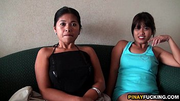 two filipina bargirls blowing one milky.