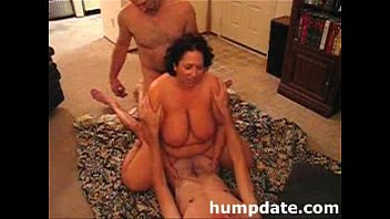 husband shares his gigantic-chested wifey with.