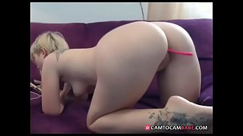 silver-blonde gal demonstrates phat arse live web cam hard-core