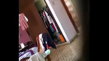 mi hermana despueacute_s de una ducha real dejen.