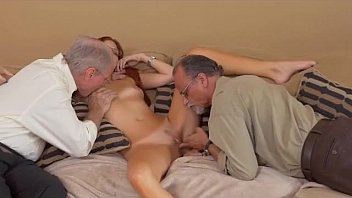Old Men Eating Out Read Headed Teen Zara Ryans Pussy