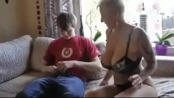 Busty step mom fucked by son&#039_s friend