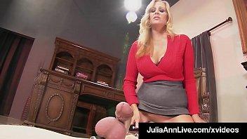 mother favorite julia ann penalizes her boy plaything.