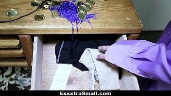 exxxtrasmall - lovely school teenie rails.