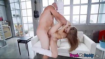 kimmy granger gets acrobatic jizz shot