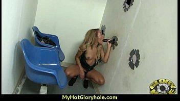 Sexy Hot Ebony Interracial Blowjob 11