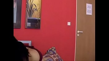 astounding ebony-haired cougar sploog on webcam.