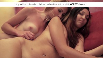 Two lesbian girls licking pussies