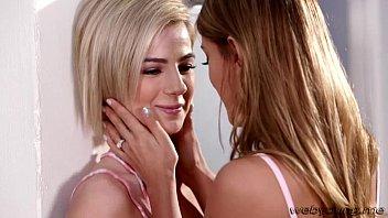 pretty ash-blonde puny nubiles uma and bella goes.