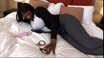 Big Boob ebony teen slut bounces on a cock in Big Ass Tits Video