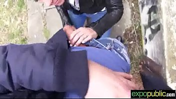 bang-out on web cam outdoor with sluty supah-steamy.