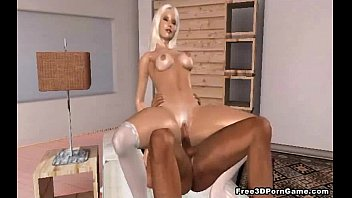 magnificent 3 dimensional toon blond stunner getting plowed rock-hard