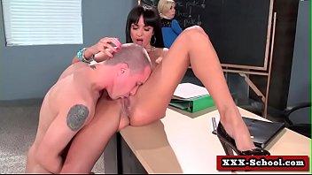 monstrous globes porked in classroom 05