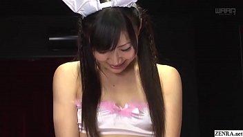 jav starlet maki hoshikawa bunny anal foray ass-plug.
