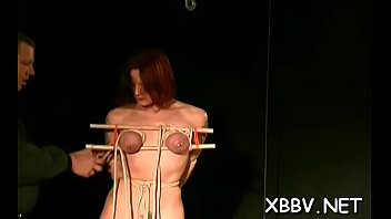 bare lady showcases off in finish knocker thraldom.