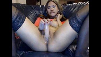 shara saian woman bang faux penis