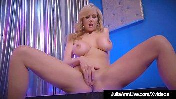 stripper cougar julia ann glides up amp_ down.
