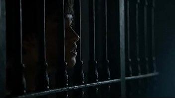 supah-pummeling-hot grils flashing breast in jail