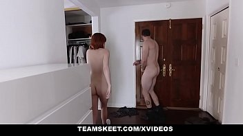 GingerPatch - Cute Redhead Teen Pussy Creampied