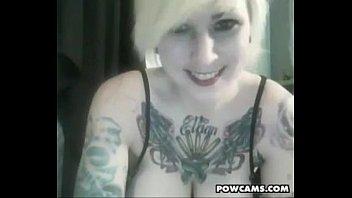 Tattooed Blonde Punk Cam Slut