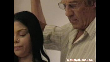 Old gropers young girl'_s big breasts grabbed by old man part1a