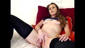 pantyhose amp_ underpants uber-cute nubile bj's faux penis.