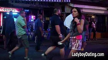 06.2014 Walking Street Pattaya Beautiful Ladyboys &amp_ Thai Ladies